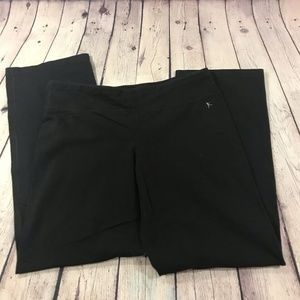 Danskin Now Women's Black Semi-Fitted Legging L